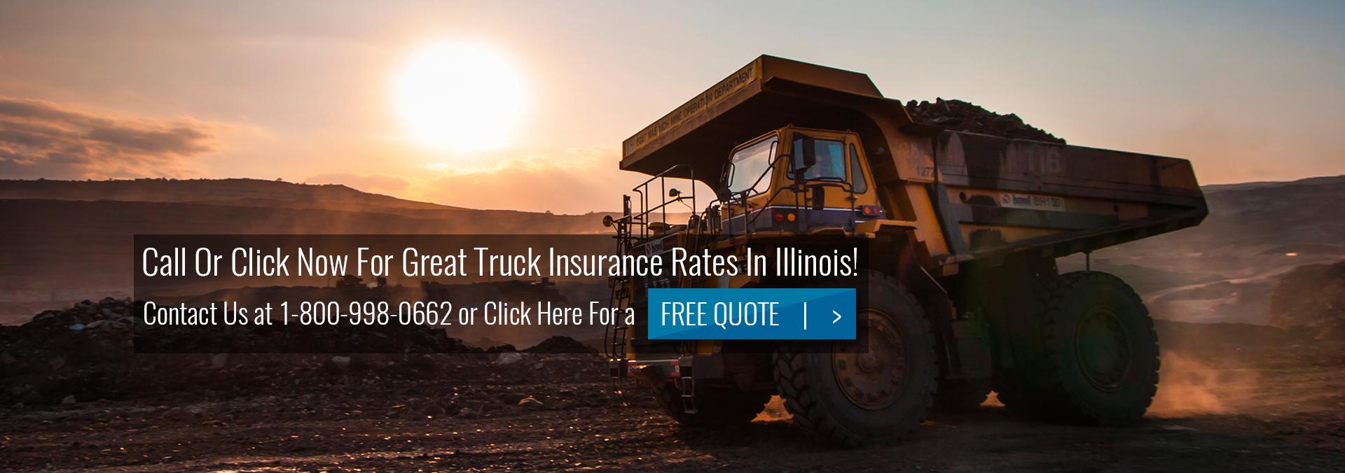 Dump Truck Insurance Illinois